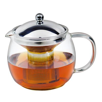 Avanti Ceylon Glass Teapot with Infuser 1.25L 6 Cup