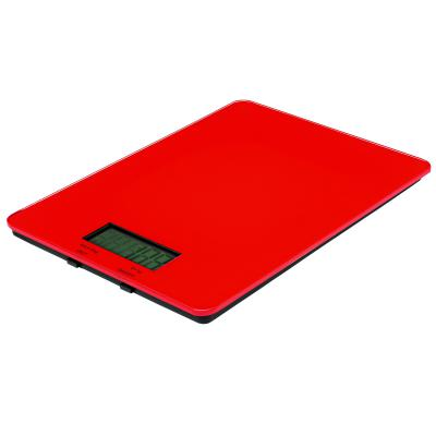 AVANTI Digital Kitchen Scales | 5.0kg Red