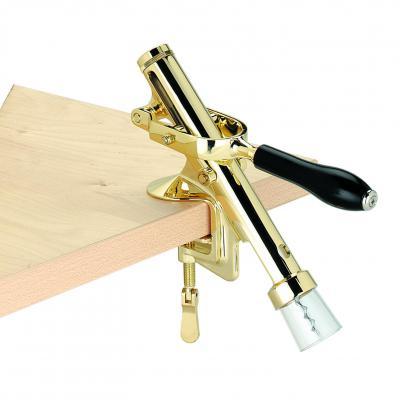 AVANTI Cellar Wiz Bench Cork Extractor   Brass