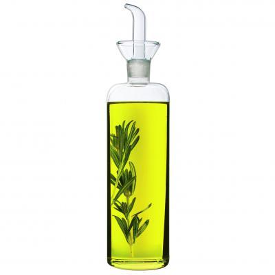 Avanti Glass Slender Olive Oil or Vinegar Cruet Dispenser 500ml