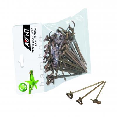 Avanti Bamboo Looped Picks   8.5cm 50 Pce