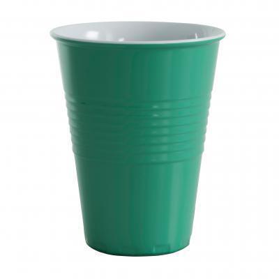Avanti Miami Melamine 2/Tone 400ml Cup-F Green