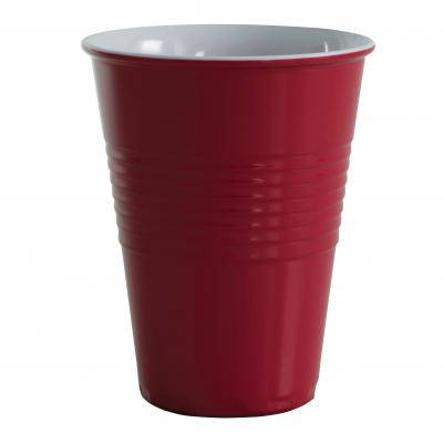 Avanti Miami Melamine 2 Tone 400ml Cup Red
