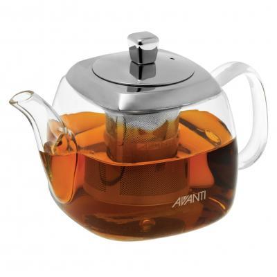Avanti Quadrate Square Teapot - 400ml