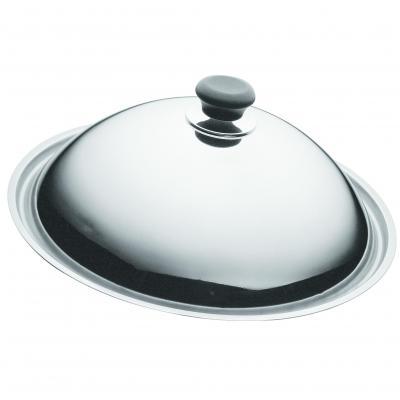 SCANPAN Dome Wok Lid Stainless Steel 36 cm