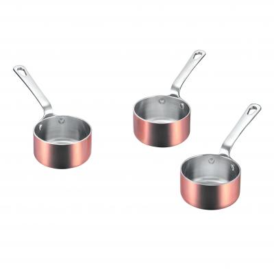 SCANPAN Maitre D Set of 3 Mini Sauce Pots