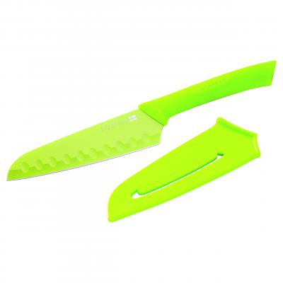 SCANPAN Spectrum Green Santoku Knife 14cm