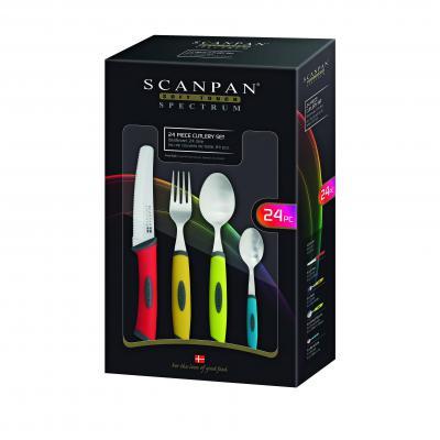 Scanpan Spectrum Cutlery Set 24pcs