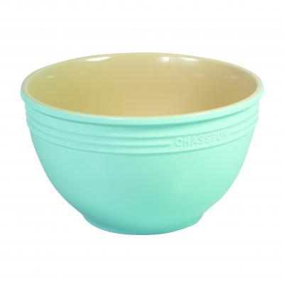 Chasseur La Cuisson Large Mixing Bowl 29cm x 17cm | Duck Egg Blue