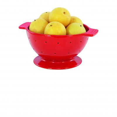 Chasseur La Cuisson Colander/Fruit Bowl | Red