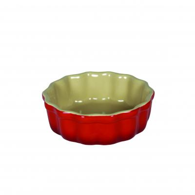 Chasseur La Cuisson Flan Dish 12cm Red
