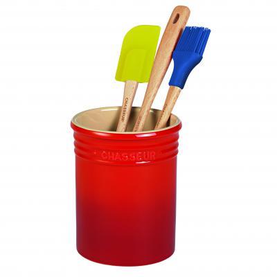 CHASSEUR La Cuisson Utensil Jar 17cm | Red