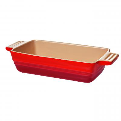 Chasseur La Cuisson Loaf Baker 22x13x6cm   Red