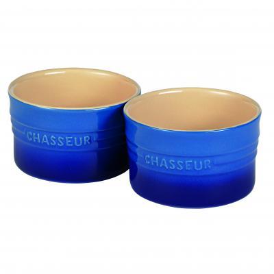 Chasseur La Cuisson Ramekin Set of Two 10cm x 6cm | Blue