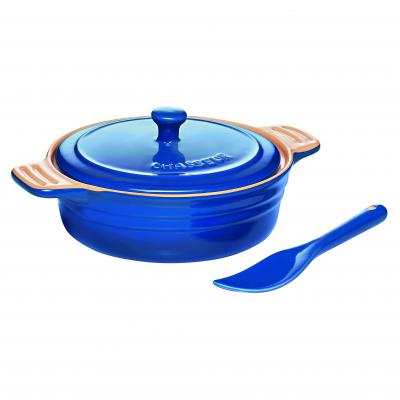 Chasseur La Cuisson Camembert Baker with Cheese Spreader | Blue