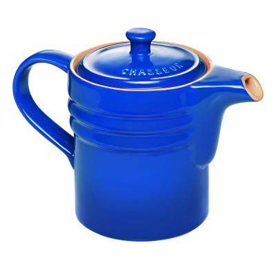Chasseur La Cuisson Oil Dripping Jug with strainer | Blue