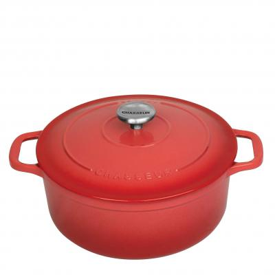 Chasseur Round French Oven 28cm 6.1L Coral