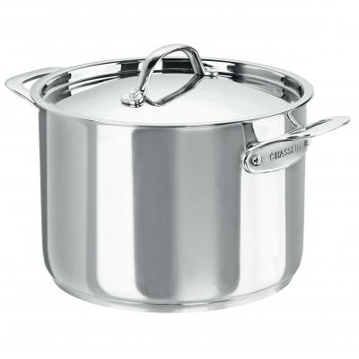 CHASSEUR Maison Stainless Steel Stock Pot 24cm/7.6 Litre