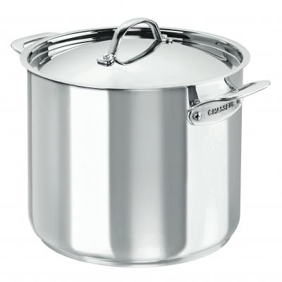 CHASSEUR Maison Stainless Steel Stock Pot 26cm/11.5 Litre
