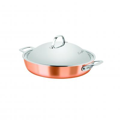 Chasseur Escoffier TryPly 32cm Chef Pan W/Lid