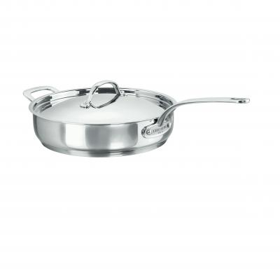 CHASSEUR Stainless Steel Sauté Pan 28 cm