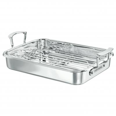 CHASSEUR Stainless Steel Roaster with Rack 35 x 26cm