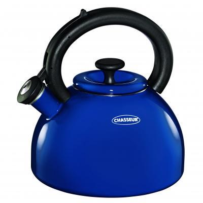 Chasseur Enamelled Whistling Kettle | Blue