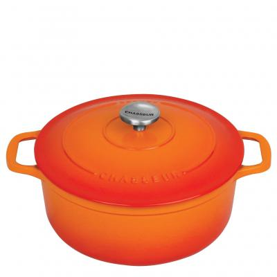 Chasseur Rnd French Oven 24cm/4L Sunset