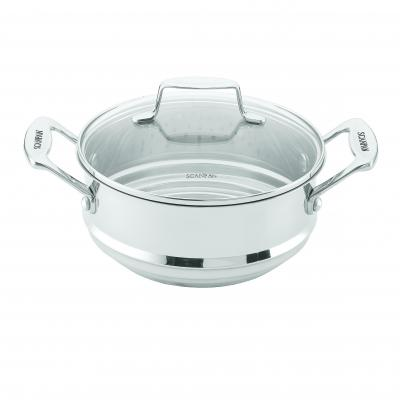 SCANPAN Impact 16/18/20cm Multi Steamer Insert with Lid