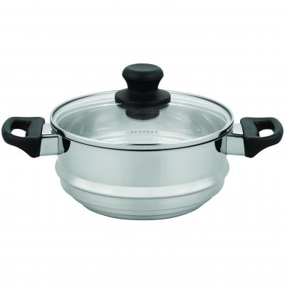 Scanpan Classic Inox Steamer with Lid 16/18/20 cm