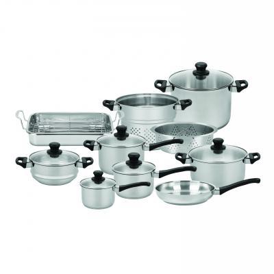 Scanpan Classic Inox 10 Piece Cookware Set