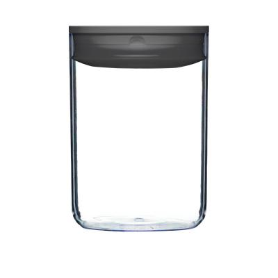 ClickClack Pantry Round | 2300ml Charcoal