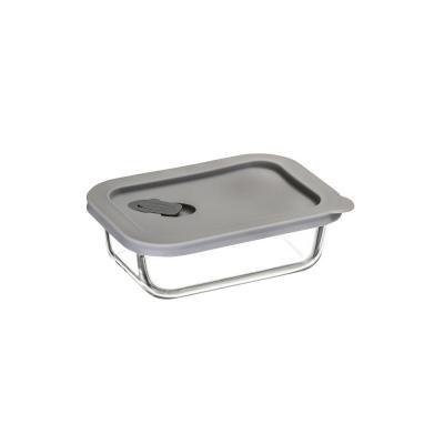 ClickClack Cook+ Rectangular | 400ML Grey