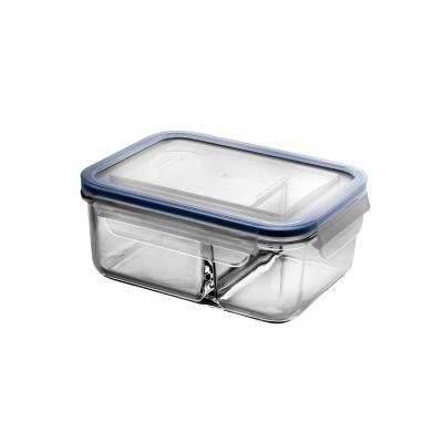 Glasslock Duo Tempered Glass Food Container | 1000ml