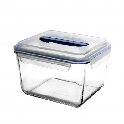 Glasslock Handy Rectangular Tempered Glass Food Container | 3700ml