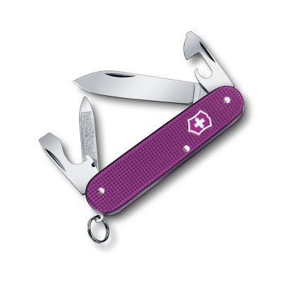 Victorinox Cadet Alox Purple Limited Ed Swiss Army Pocket Knife | 9 Functions