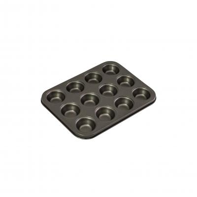 Bakemaster 12 Cup Mini Muffin Pan 26 x 20cm/4.5 x 2cm Non-stick