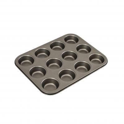 Bakemaster 12 Cup Muffin/Cupcake Pan 35 x 27cm/7 x 2.5cm Non-stick