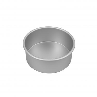 Bakemaster Silver Anodised Round Cake Pan 17.5X7.5cm