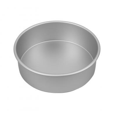 Bakemaster Silver Anodised Round Cake Pan 22.5X7.5cm