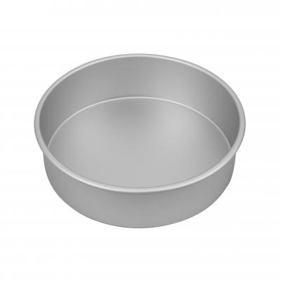 Bakemaster Silver Anodised Round Cake Pan 25X7.5cm