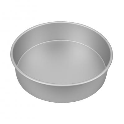 Bakemaster Silver Anodised Round Cake Pan 27.5X7.5cm