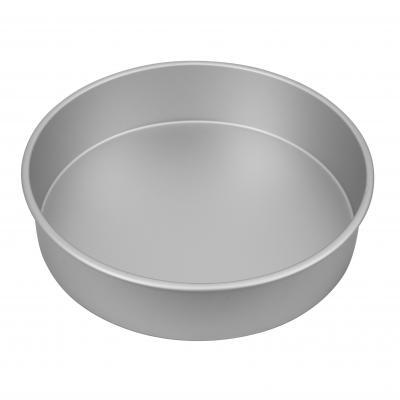 Bakemaster Silver Anodised Round Cake Pan 30.5X7.5cm