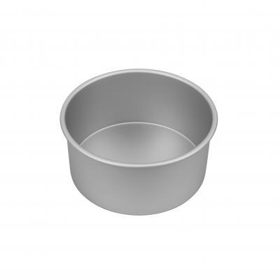 Bakemaster Silver Anodised Round Deep Pan 20x10cm