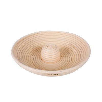 Bakemaster Circle Proving Basket 28 x 6.5cm Rattan