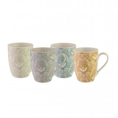 Bundanoon Coupe Mug | Lace Set Of 4