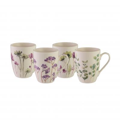 Bundanoon Coupe Mug | Botanical Set Of 4