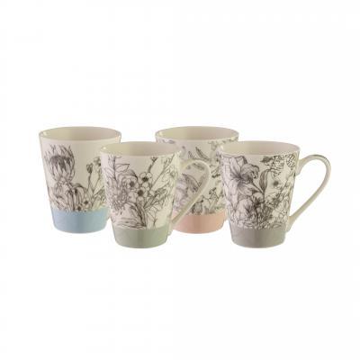 Bundanoon Conical Mug | Artisan Set Of 4