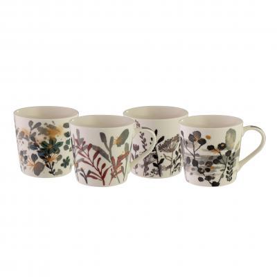 Bundanoon Mod Mug - Flora Set Of 4