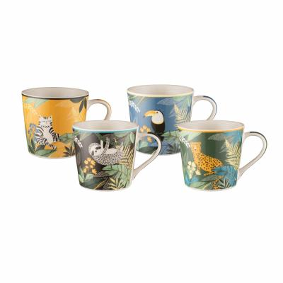 Bundanoon Mod Mug Set Of 4-Ssafai 429ml